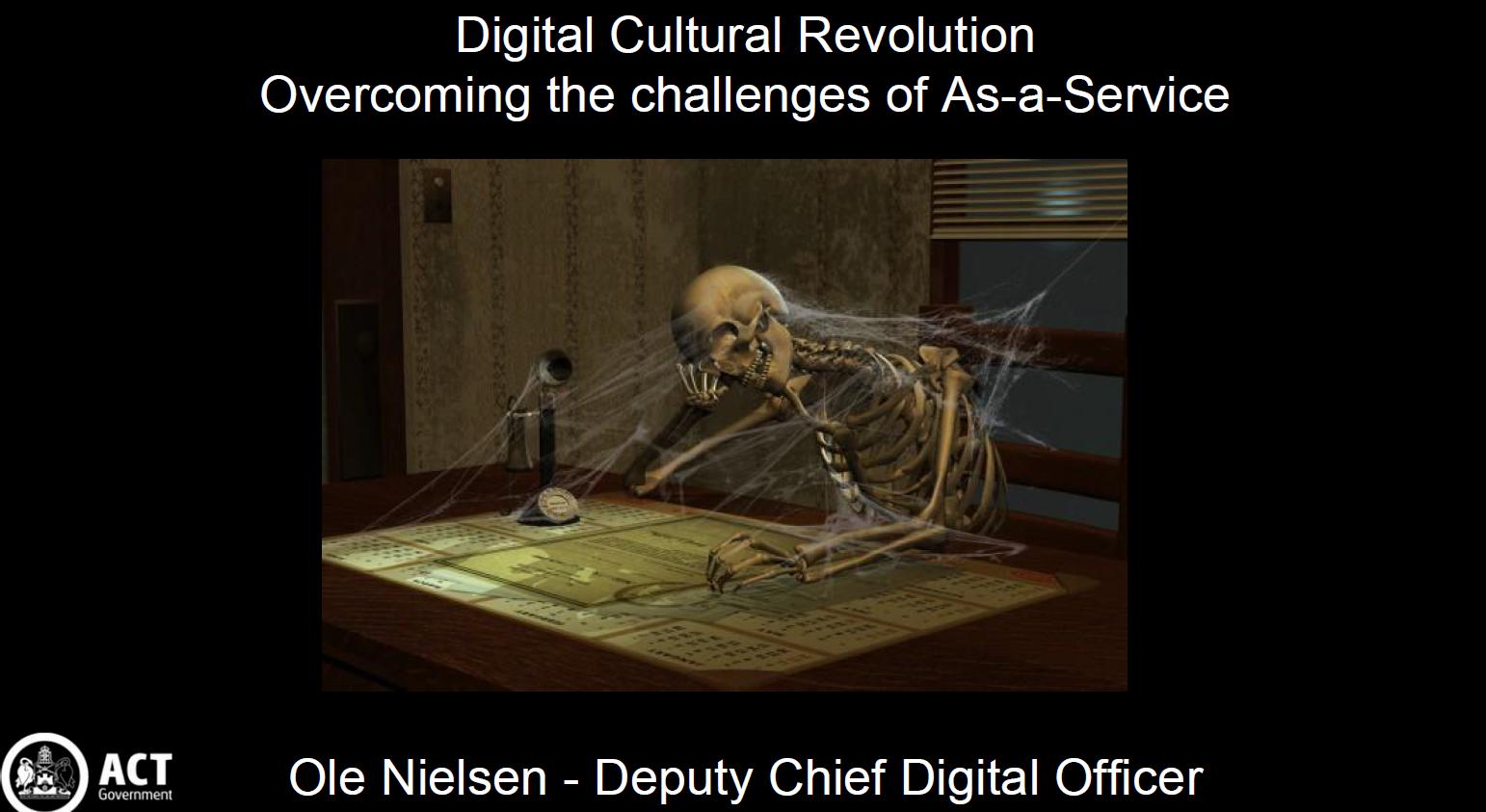 A Digital Cultural Revolution