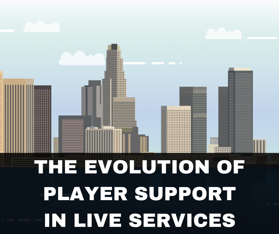 The Evolution of Player Support in Live Services: Infographic