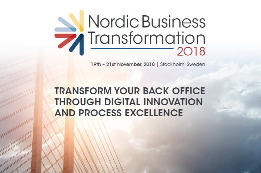 Nordic Business Transformation 2018 - spex - Partnership Pack