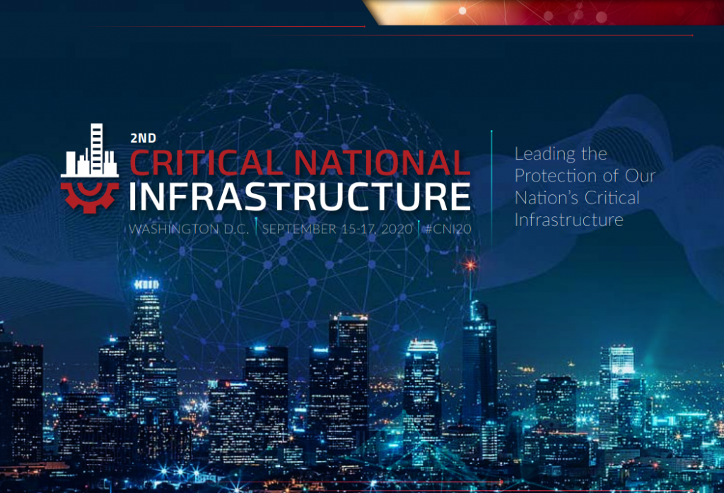 Critical National Infrastructure Preliminary Agenda 2020