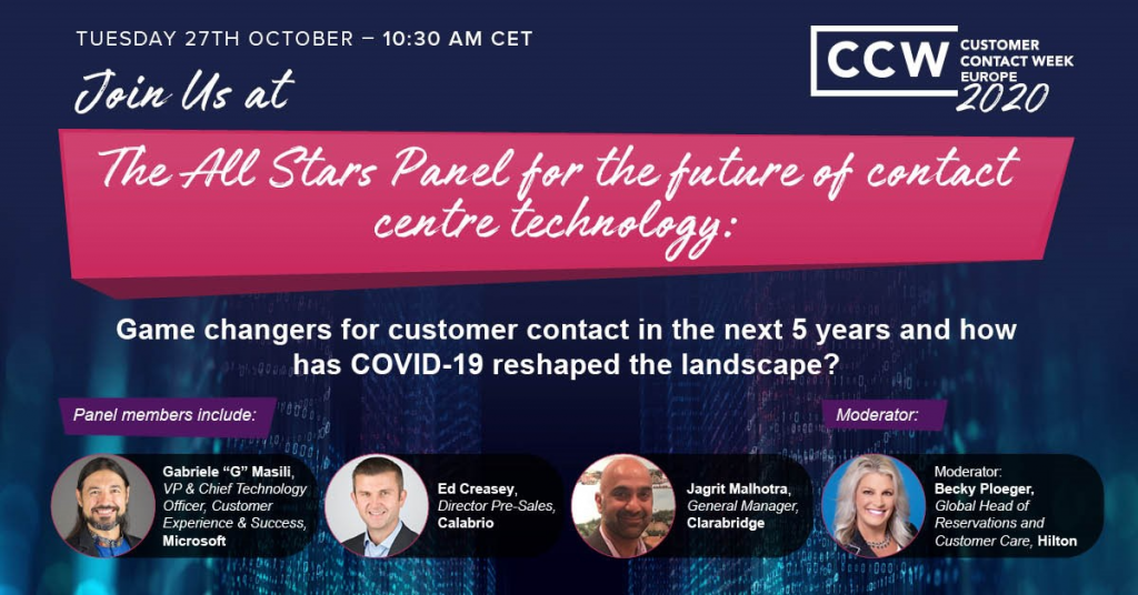 The All-Stars Panel: The future of contact centre technology