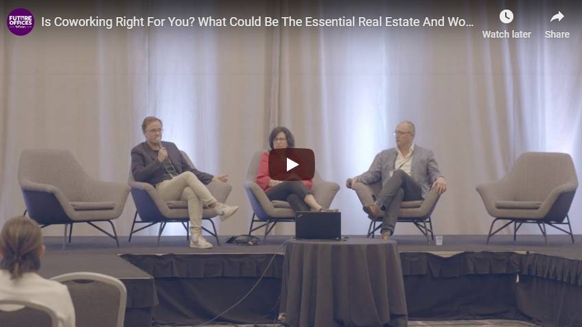 Is Coworking Right For You? Finding the Right Real Estate Strategy Mix [VIDEO]