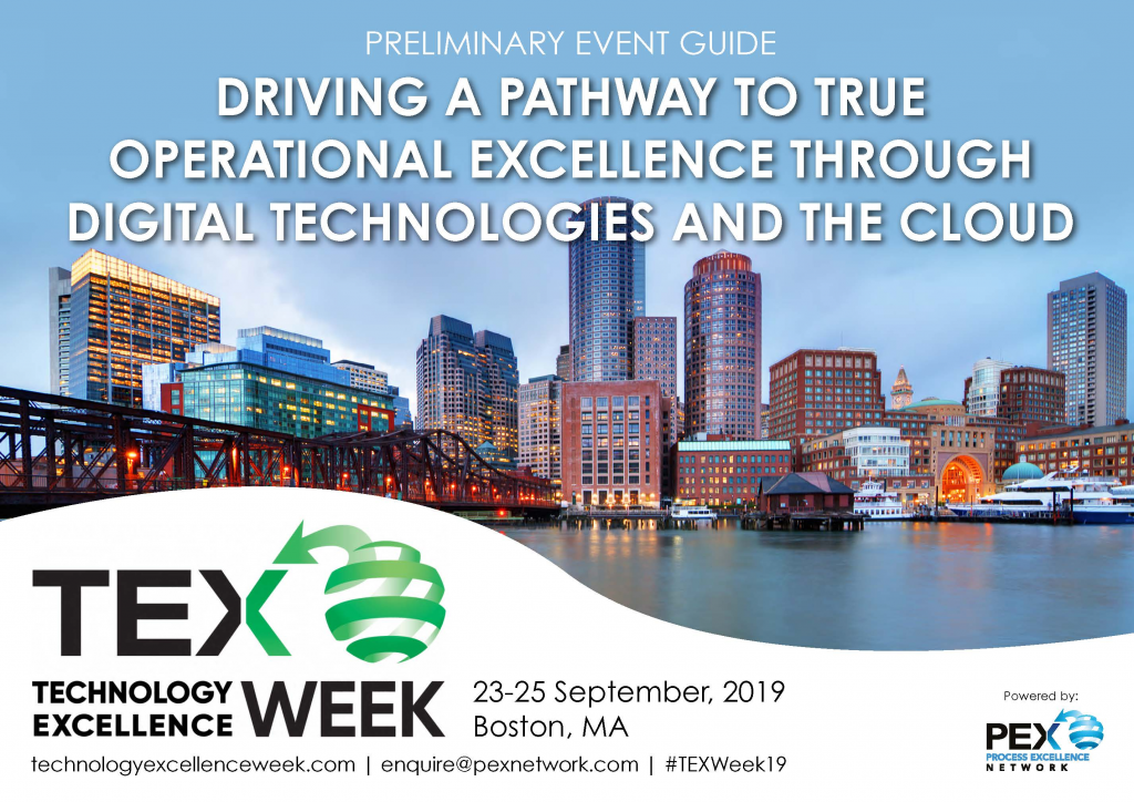 Technology Excellence Week 2019 Early Agenda