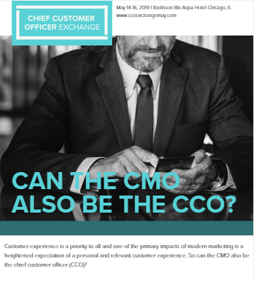 Can the CMO Also Be the CCO?