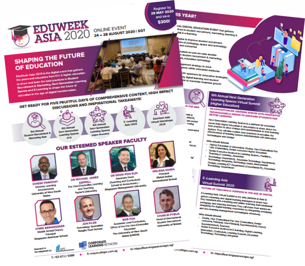 View the full event outline for EduWeek Asia 2020