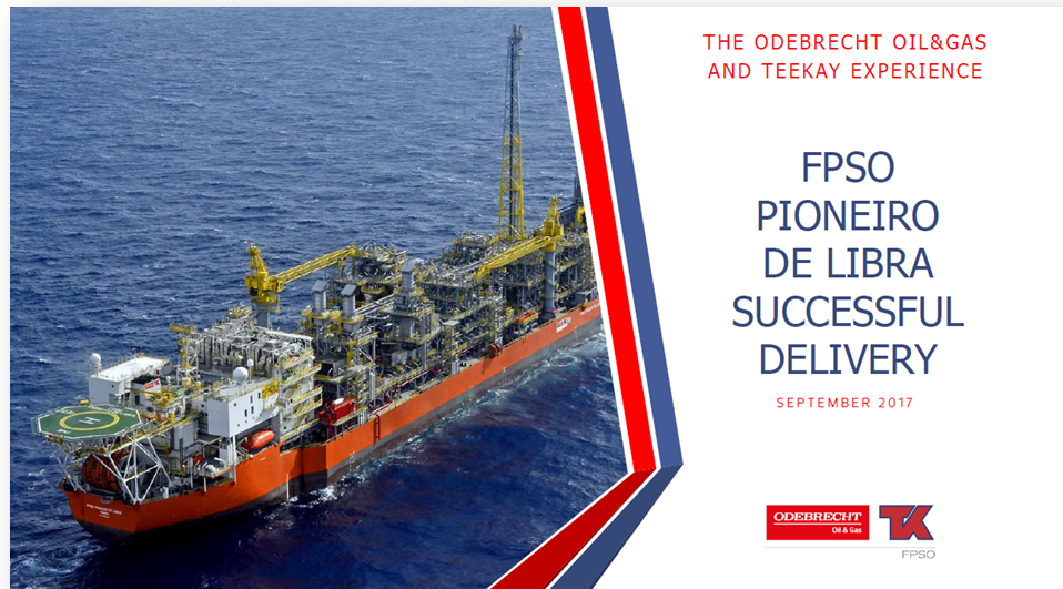 Successful Delivery of Libra FPSO Based on an EPC Lump Sum Model