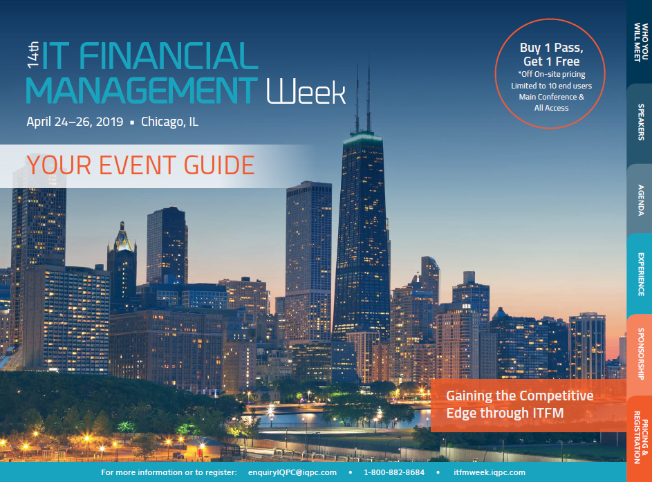 First Look at IT Financial Management Week 2019
