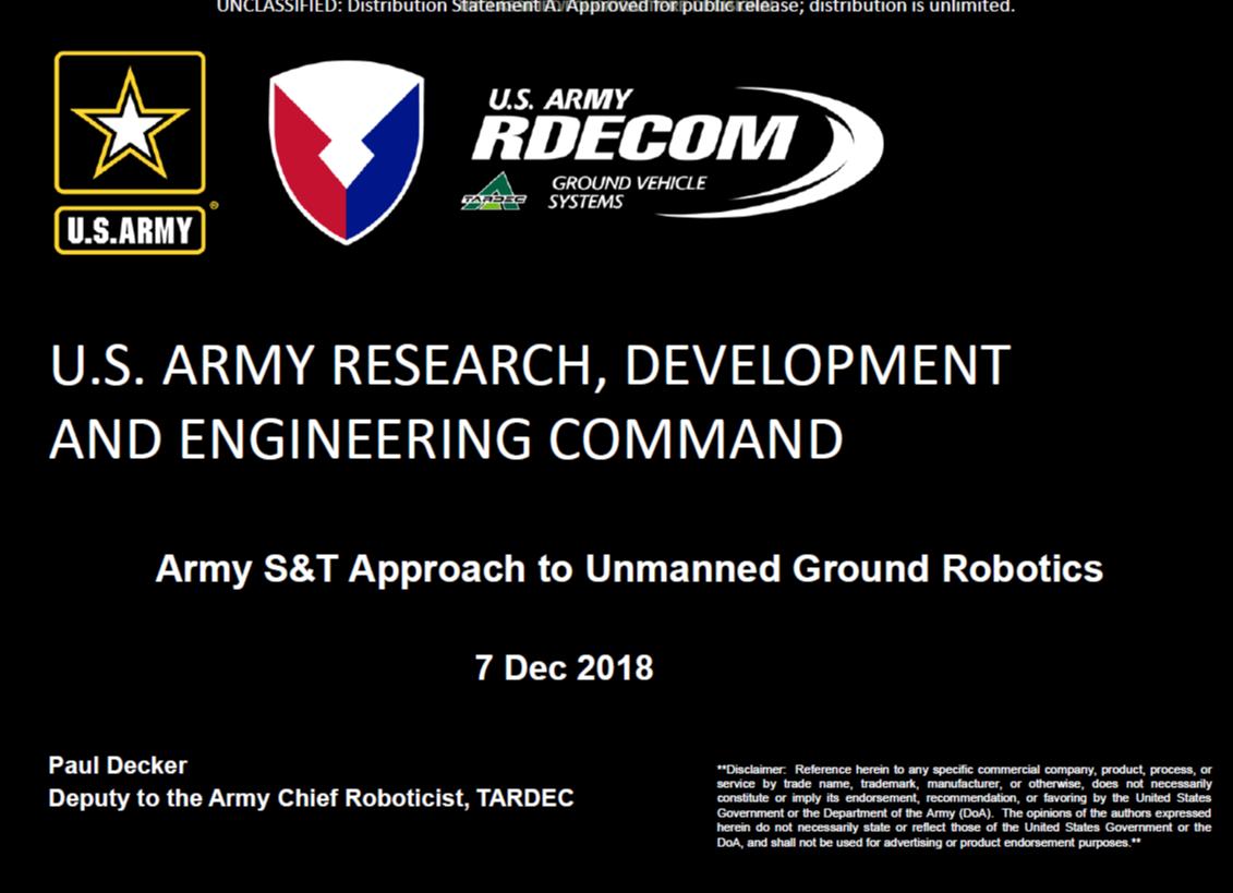 Using Unmanned Ground Combat Vehicles to Enhance Strategic Awareness