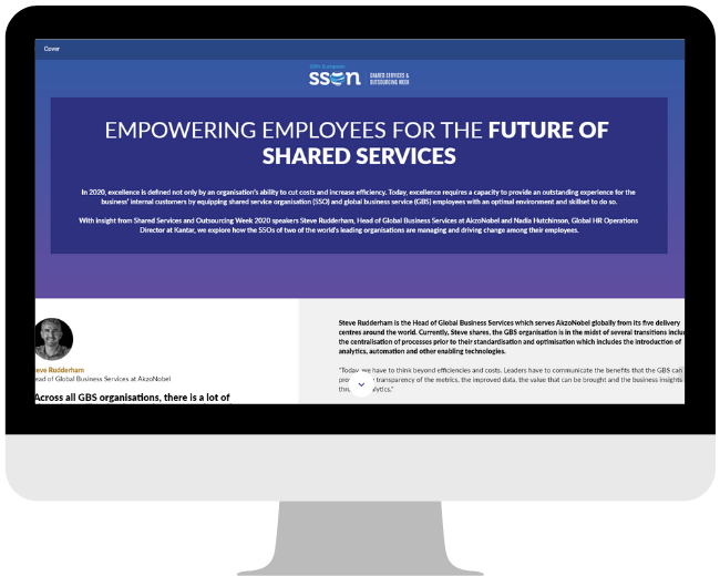 Empowering Employees for the Future of Shared Services