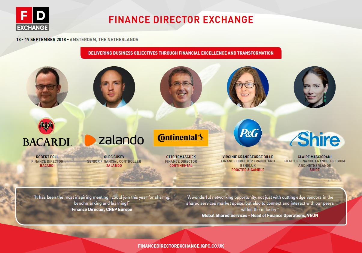 Download the 2018 Finance Director Exchange Agenda