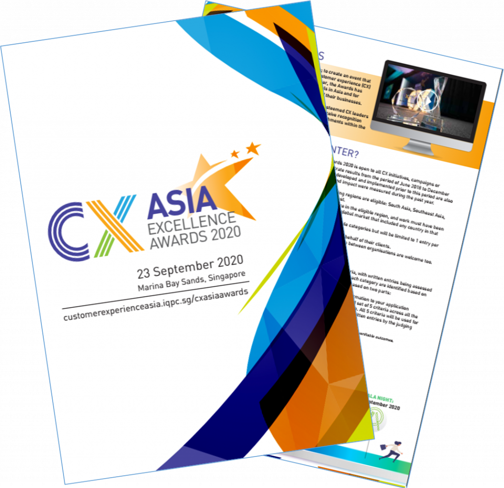 CX Asia 2020 Awards Brochure