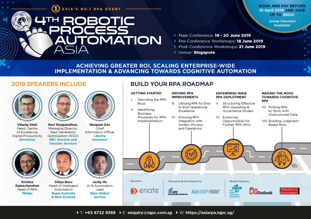 Download the 4th RPA Asia 2019 brochrue