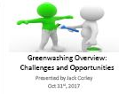 Greenwashing Investigations by the FDA/FTC are Increasing – Protecting Your Company