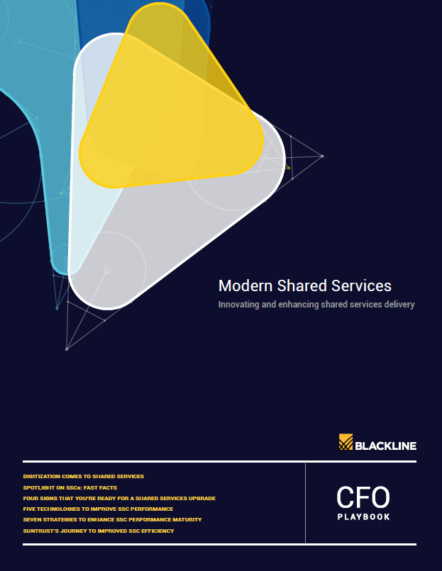 Modern Shared Services: Innovating and Enhancing Shared Services Delivery   A Blackline Report