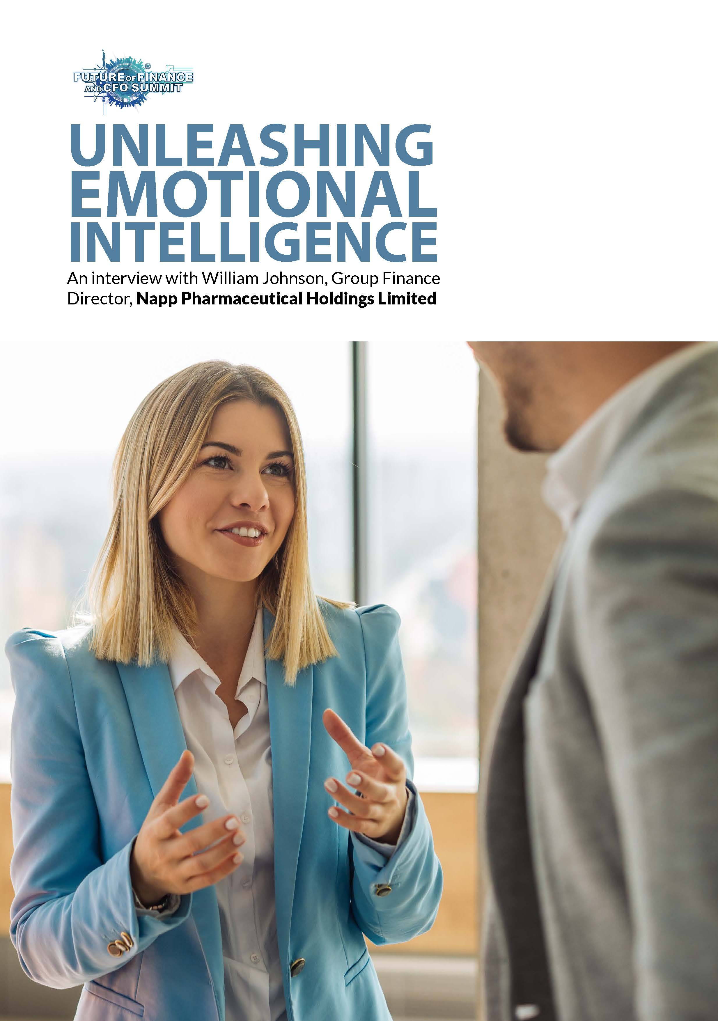 Unleashing emotional intelligence: An interview with William Johnson
