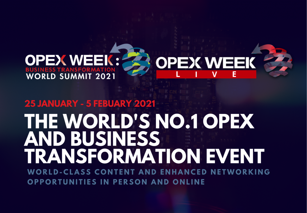 OPEX Week and OPEX Week Live Sponsorship Guide