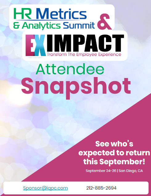 Ex Impact and HR Metrics - Past Attendee Snapshot
