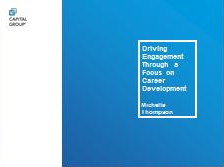 Driving Engagement through a Focus on Career Development