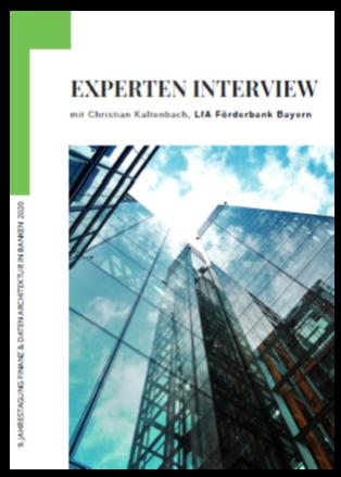 Interview: Datenarchitektur der LfA Förderbank Bayern