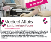 Medical Affairs in the News