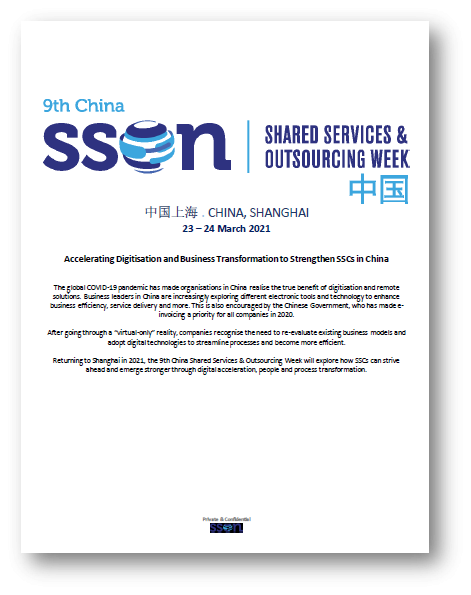 Take a peek at the SSOW China 2021 Preliminary Agenda