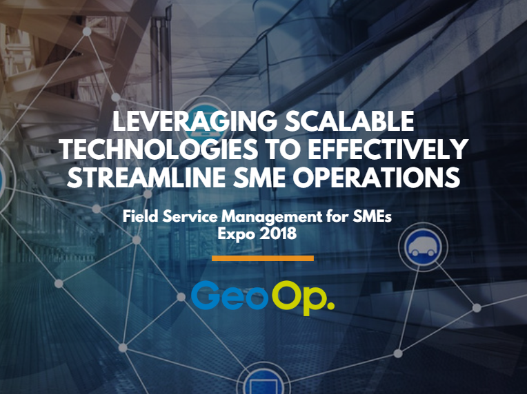 [GeoOp] Leveraging Scalable Technologies to Effectively Streamline SME Operations