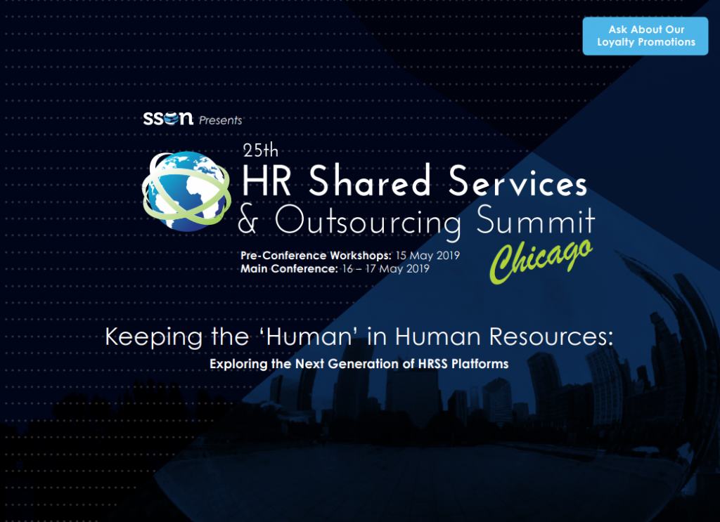 25th HR Shared Services & Outsourcing Agenda