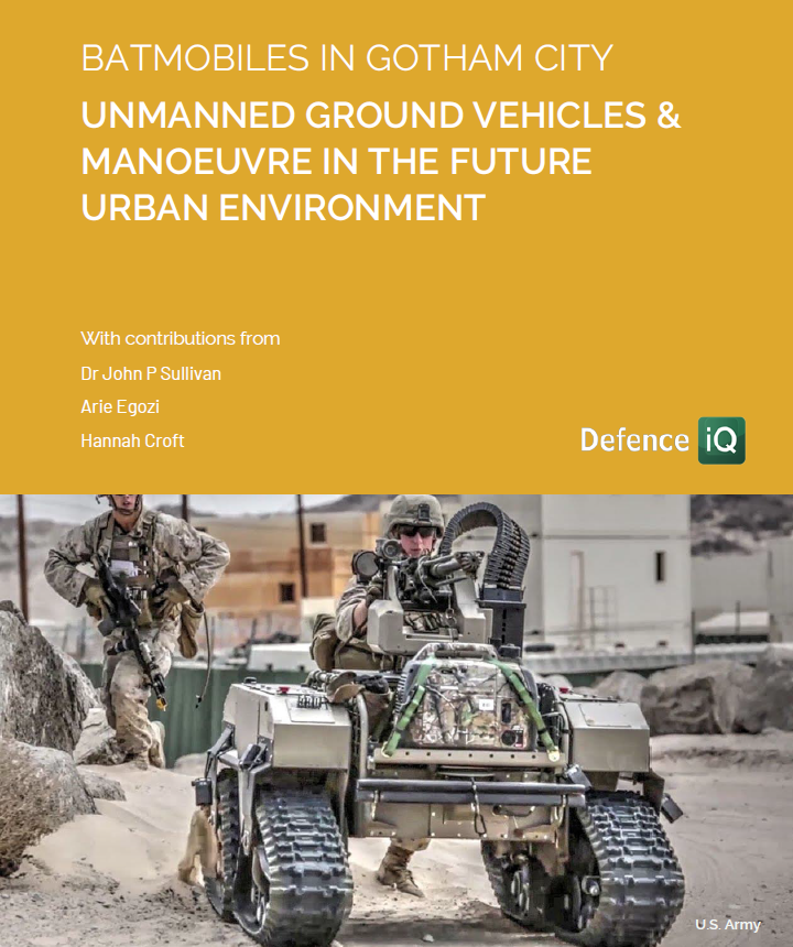 UGVs & Manoeuvre in the Future Urban Environment