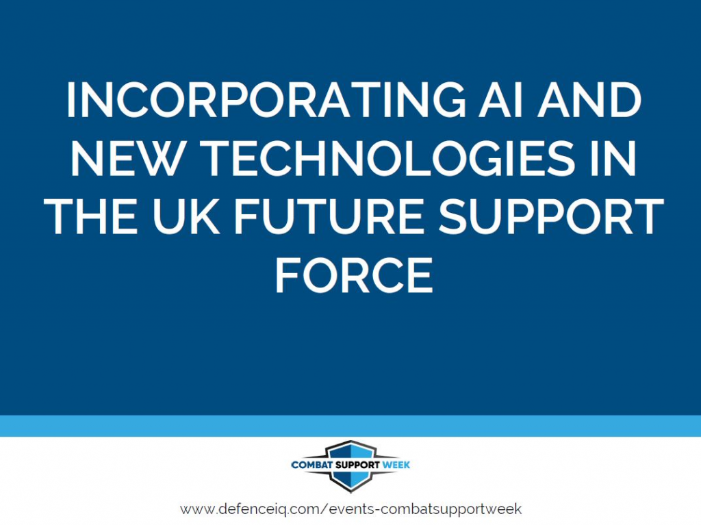 Incorporating AI and new technologies in the UK Future Support Force