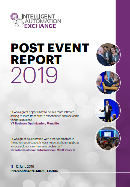 [Report] Intelligent Automation Exchange USA 2019: Post Event Report
