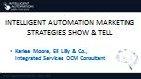 Intelligent Automation Marketing Strategies Show & Tell