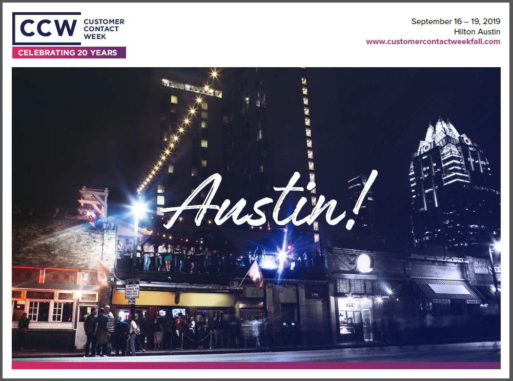 View Past Event Guide: CCW Austin 2019