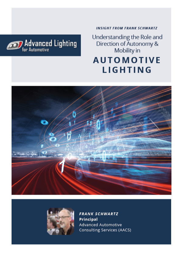 Understanding the Role and Direction of Autonomy and Mobility in Automotive Lighting