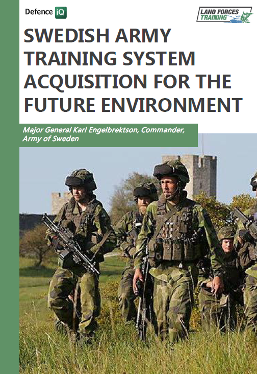 Swedish Army training system acquisition for the future environment