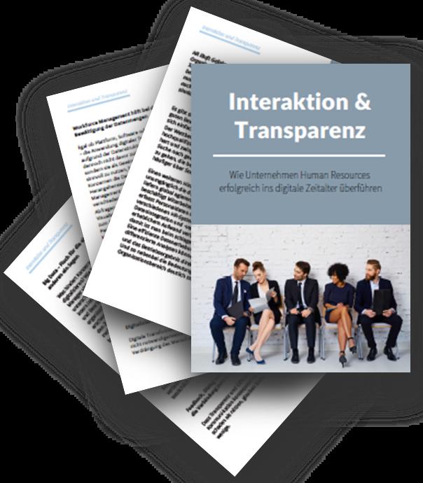 Wie Unternehmen Human Resources mit Interaktion und Transparenz ins digitale Zeitalter überführen
