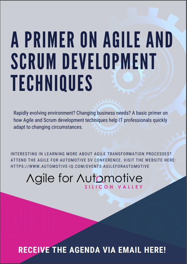 A Primer on Agile and Scrum Development Techniques