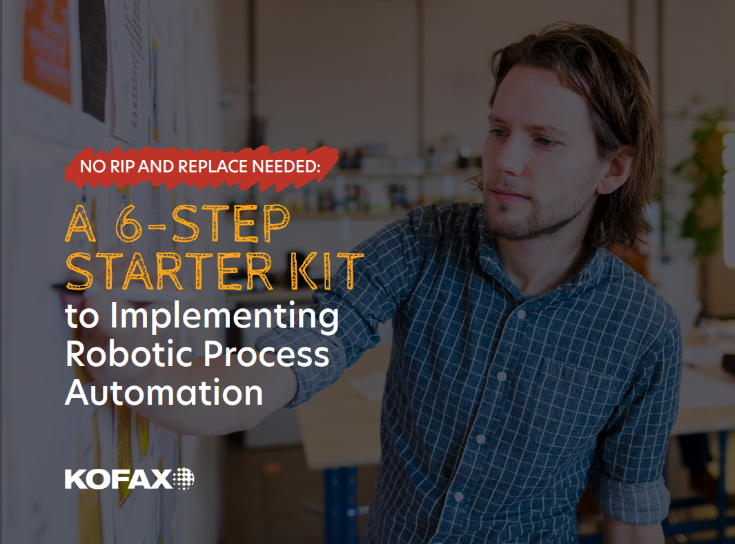A 6-Step Starter Guide to Implementing an RPA Solution