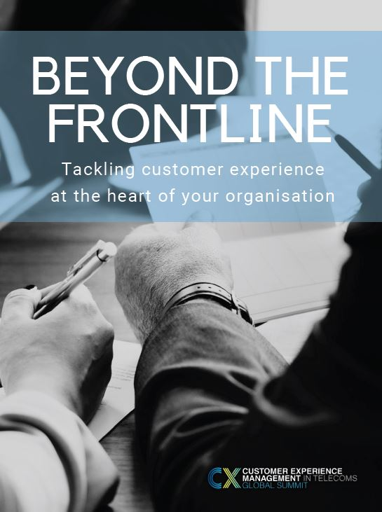 Beyond the Frontline: Tackling customer experience at the heart of your organisation