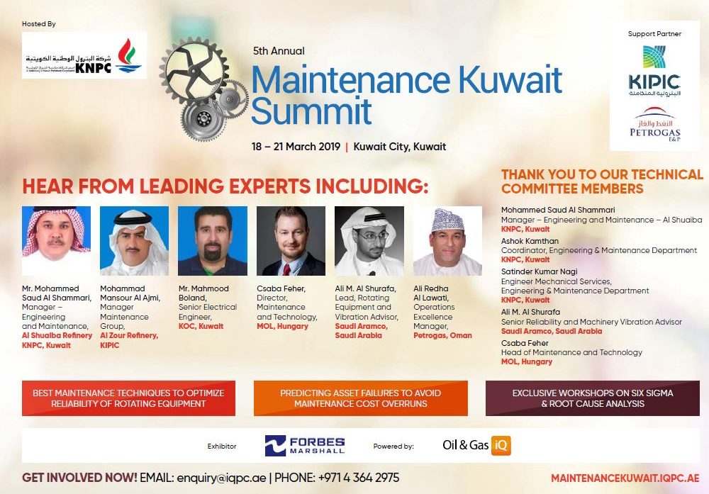 5th Annual Maintenance Kuwait Summit - Brochure