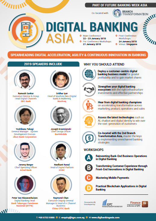 View the Full Event Outline for Digital Banking Asia