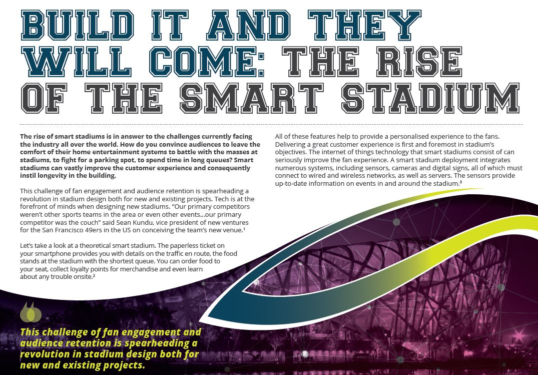 Download E-Book: The Rise Of Smart Stadiums