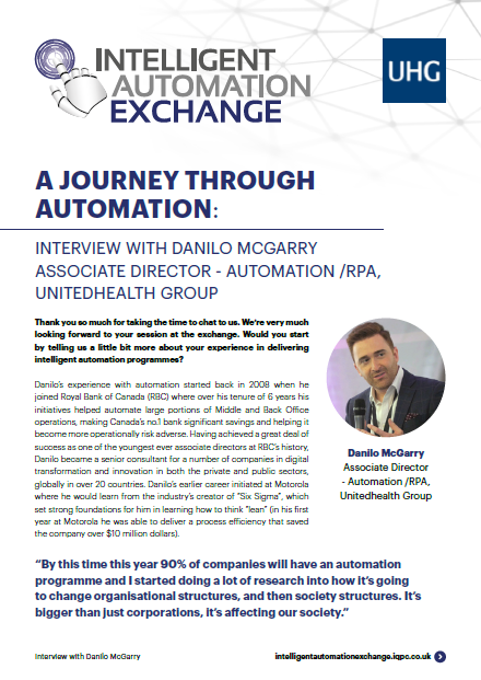 A Journey Through Automation: Q&A with Danilo McGarry