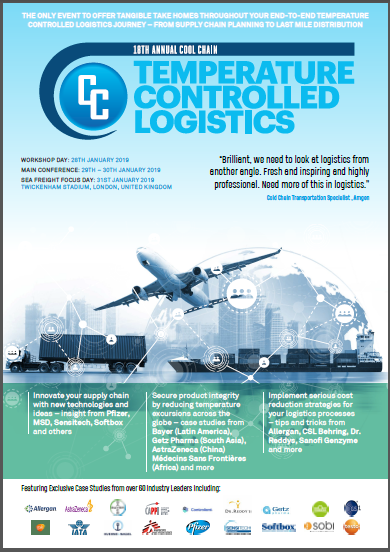 Temperature Controlled Logistics 2019 Agenda