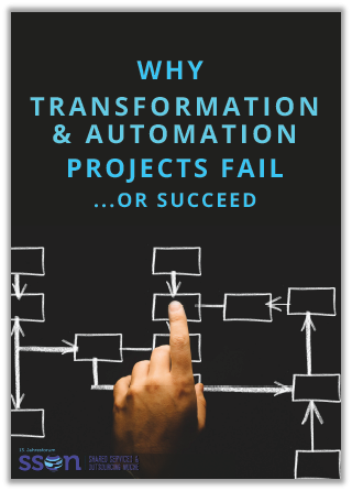 Report on why transformation and automation projects fail or succeed