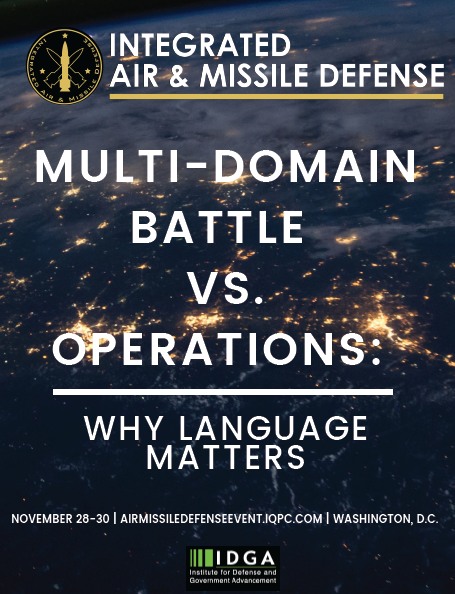 Multi Domain Battle Vs. Operations: Why Language Matters