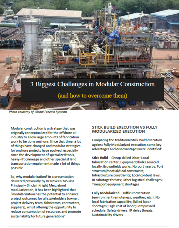 How to Overcome the Three Largest Challenges in Modular Construction
