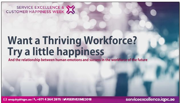Want a thriving workforce – try a little happiness