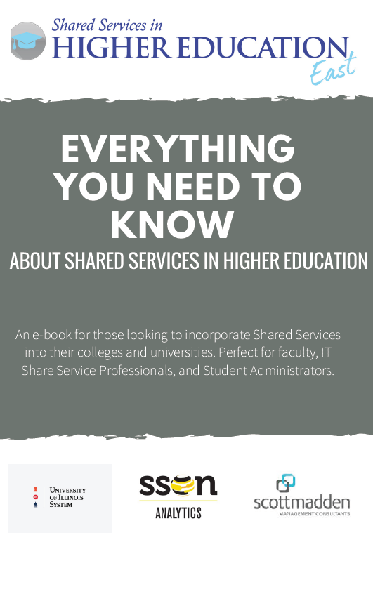 Everything You Need To Know About Shared Services in Higher Education E-Book