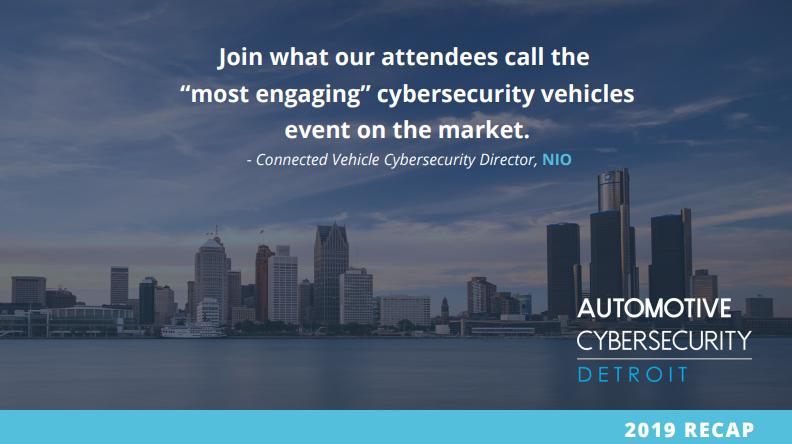 Automotive Cybersecurity 2019 Recap