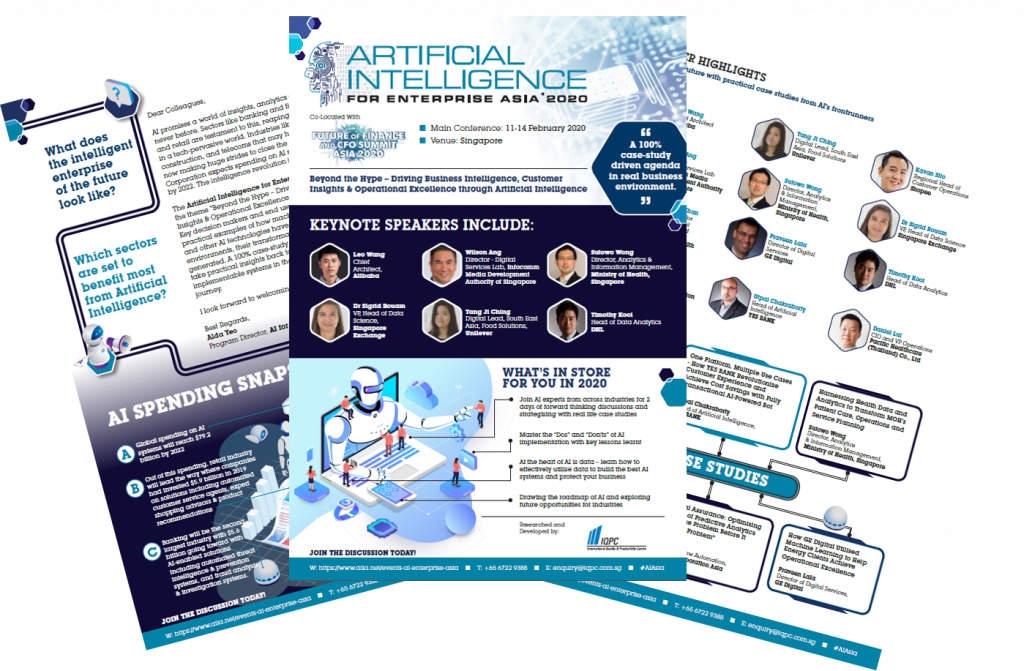 View Your Event Guide - Artificial Intelligence for Enterprise 2020